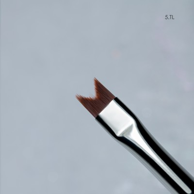 """""""Кисть MAESTRU 5. TL  /ворс нейлон """"""""ласточкин хвост"""""""" (идеальна для текстуры)"""""""