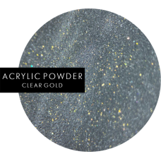 ACRYLIC POWDER | Clear gold