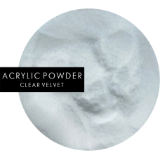 ACRYLIC POWDER | Clear velvet