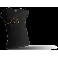 Футболка брендированная SOTA черная